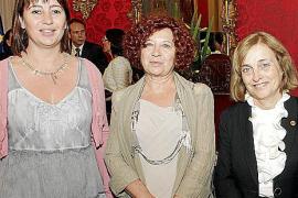 Acto de entrega de la Medalla d'Honor del Parlament a Cáritas