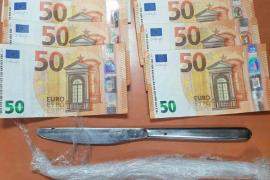 Detenidos en Sóller dos presuntos traficantes de cocaína y 'cristal'