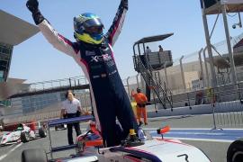 Lorenzo Fluxá, subcampeón de la Fórmula 4 de los Emiratos Árabes