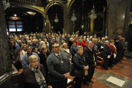 La 'Trobada de Confraries' congrega en el Santuari de Lluc a más de 1.000 personas