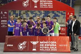 El Palma Futsal, subcampeón de la Minicopa