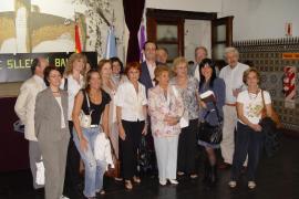 Bauzá visita en Argentina la Casa Balear de Buenos Aires