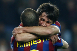 El Barça suda la victoria