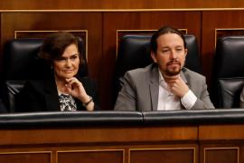 PSOE y Podemos acuerdan «poner freno» a los desahucios por impago del alquiler