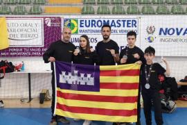 Balears suma tres medallas en el nacional de muaythai y kickboxing