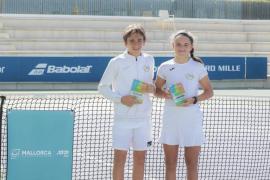 Los gemelos isleños que arrasan en el Mallorca Championships Teen