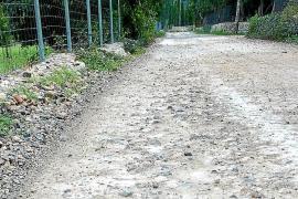 Los vecinos de Pollença convocan una marcha para reclamar que se asfalte el Camí Vell de Lluc
