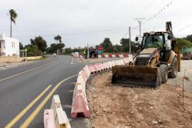 Comienzan las obras de la ronda de ses Païsses para mejorar la seguridad viaria