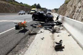 Un guardia civil retirado fallece en un accidente de tráfico en San Llorenç des Cardassar