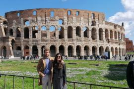 Dos mallorquines, a la espera de poder salir de Roma