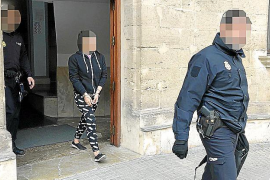 Arrestada una mujer en Palma por entregar hachís a su novio preso antes de entrar a un juicio