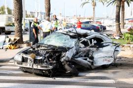 Bajan un 32% los fallecidos por accidente de tráfico en ciudades de Baleares