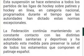 Nuevas suspensiones que afectan al deporte balear
