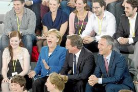 Merkel anuncia que está lista para intervenir y estabilizar la Eurozona