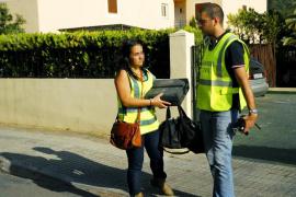 Cae una banda de ocho rumanos que utilizaba a dos embarazadas para robar en Calvià