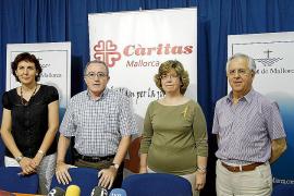 Un 75% de las personas que atendió Càritas Mallorca en 2011 eran inmigrantes
