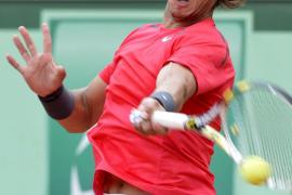 Interrumpen por la lluvia la semifinal entre Nadal y Ferrer