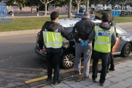 Detenido en el puerto de Palma con más de tres kilos de cocaína en el camión
