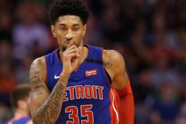 El jugador de Detroit Pistons Christian Wood, tercer positivo por coronavirus en la NBA