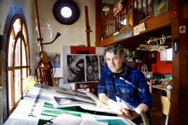 Francesc Grimalt emite clase de ilustración para niños y mayores