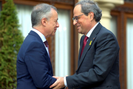 Torra y Urkullu critican el decreto de declaración del estado de alarma