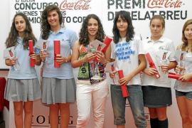 Jóvenes talentos premiados por sus relatos