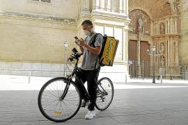 Glovo aumenta un 30 % su actividad en Palma con la crisis del coronavirus