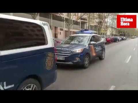 Patrullando por Palma con la Policía Nacional