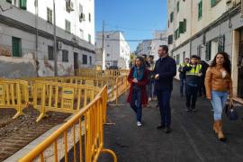 Las obras del Ajuntament de Palma en la vía pública continúan durante el estado de alarma