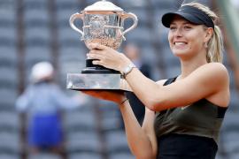 Sharapova completa el 'Grand Slam' con la conquista de París