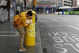Personal de Correos de Baleares decide no salir a la calle ante la falta de protección