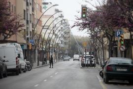 El segundo día laboral de estado de alarma en Ibiza por el coronavirus, en imágenes (Fotos: Daniel Espinosa).