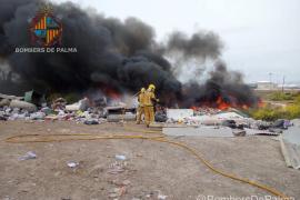 Sofocan un incendio en Son Banya