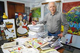 Medio siglo de viñetas con el 'ojo clínico' del dibujante Pep Roig