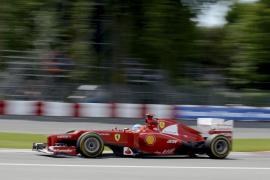 Alonso: «si corremos para hacer segundos es mas triste»