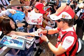 Alonso quiere confirmar su  gran arranque en Australia