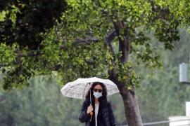 El riesgo por lluvias afectará este sábado a Baleares