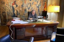 Torra internacionaliza sus críticas al Gobierno por la gestión de la COVID-19