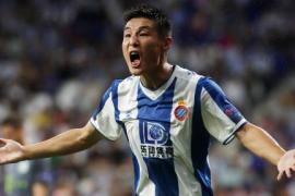 Wu Lei, delantero chino del Espanyol, positivo por COVID-19