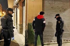 Una noche de patrulla con la Policía Nacional por Palma, la ciudad fantasma