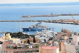 Superyates atrapados en Palma