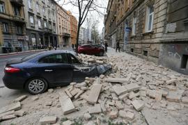 La capital de Croacia, sacudida por un fuerte temblor