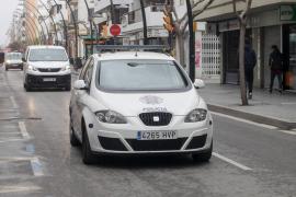 La Policía denuncia a un motorista en Ibiza por saltarse el estado de alarma, sin carné e ir ebrio
