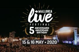 Mallorca Live Festival 2020 se aplaza a octubre