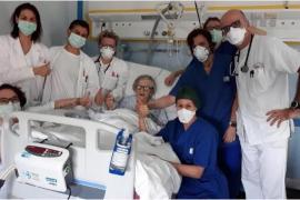 Alma Clara Corsini, la 'heroína' de Italia que venció al coronavirus a los 95 años