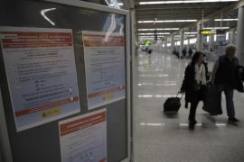 Aena mantiene operativas las zonas B a D del aeropuerto de Palma