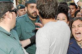 Multa de 3.000 euros a un militante del PSM por no mostrar el DNI en la protesta contra Bauzá