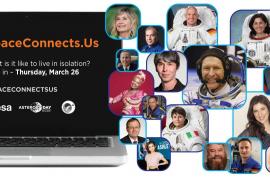 El aislamiento de los astronautas, como experiencia contra la COVID-19