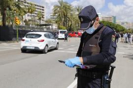 Detenido por cuarta vez en ocho días en Palma por desobediencia