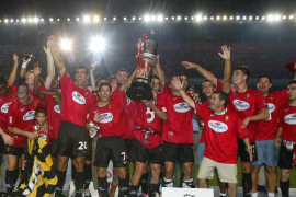 Teledeporte recuerda hoy el título de la Copa del Rey del Mallorca